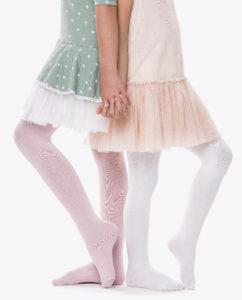 Detské pančuchové nohavice z organickej bavlny. 2 kusy v jednom balení.